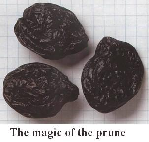 three prunes